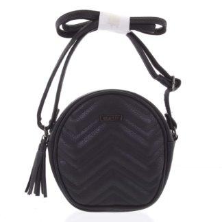 Malá trendy crossbody kabelka černá - Beagles Mana černá