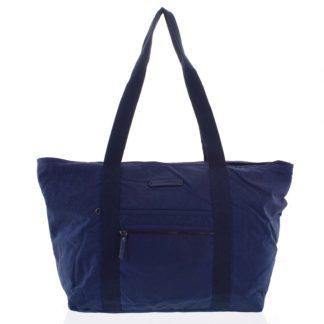 Velká dámská cestovní taška přes rameno tmavě modrá - Enrico Benetti Mariam modrá