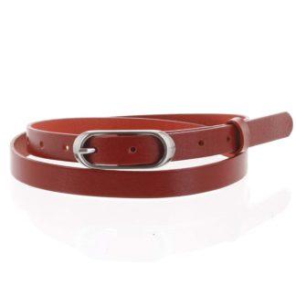 Dámský kožený opasek červený - PB Cain 95 červená