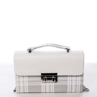 Dámská originální kabelka psaníčko bílá - Michelle Moon Dreamless bílá