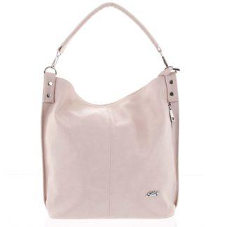 Elegantní dámská kabelka přes rameno růžová - Ellis Negina růžová
