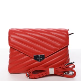 Módní originální crossbody kabelka červená - Silvia Rosa Nastaran  červená