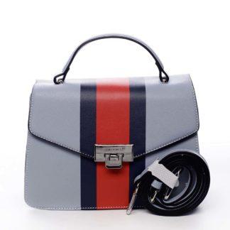 Exkluzivní menší dámská kabelka do ruky světle modrá - David Jones Shabana modrá