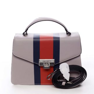 Exkluzivní menší dámská kabelka do ruky světle fialová - David Jones Shabana fialová