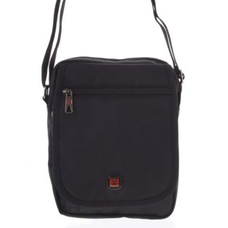 Pánská sportovní taška na doklady černá - Enrico Benetti Nico černá