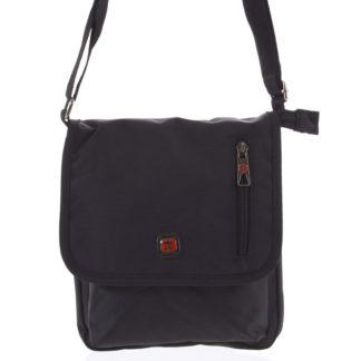Pánská crossbody taška na doklady černá - Enrico Benetti Meysam černá