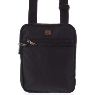 Pánská crossbody taška na doklady černá - Enrico Benetti Najil černá