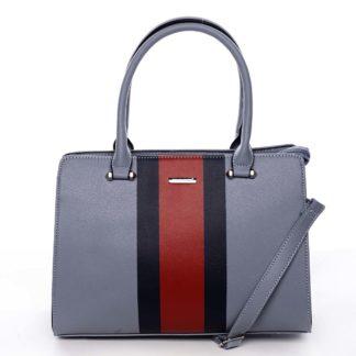 Exkluzivní dámská kabelka do ruky bledě modrá - David Jones Shabanax modrá