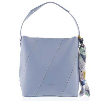 Elegantní dámská kabelka přes rameno světle modrá - David Jones Abena  modrá