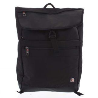 Velký černý batoh - Enrico Benetti Sanjar černá