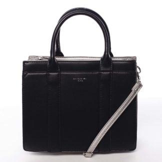 Malá dámská kabelka do ruky černá - David Jones Akiba  černá