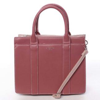 Malá dámská kabelka do ruky tmavě růžová - David Jones Akiba  růžová