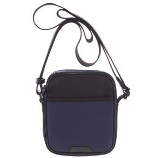 Malá pánská crossbody taška modro černá - Hexagona Arga modrá