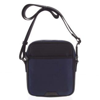 Pánská crossbody taška modro černá - Hexagona Aquino modrá