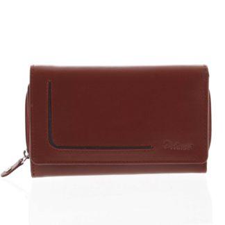 Dámská kožená peněženka červená - Delami Nuria červená