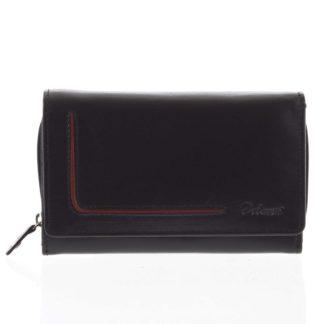 Dámská kožená peněženka černá - Delami Nuria černá