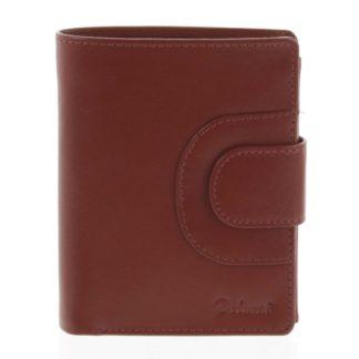 Pánská kožená peněženka červená - Delami Armando červená