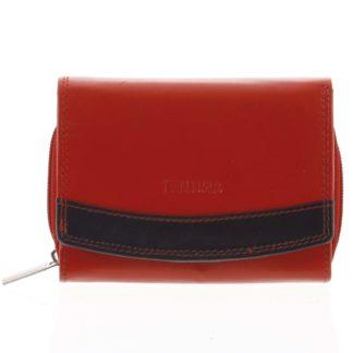 Dámská kožená peněženka červená - Bellugio Aleron červená