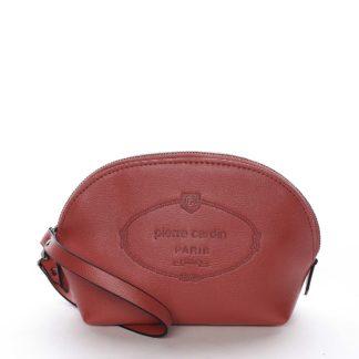 Dámské psaníčko kabelka červené - Pierre Cardin Balbina červená