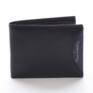 Pánská kožená peněženka černá - Pierre Cardin Ludmar Blue černá