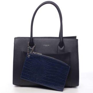 Dámská kabelka přes rameno tmavě modrá - David Jones Gilsia modrá