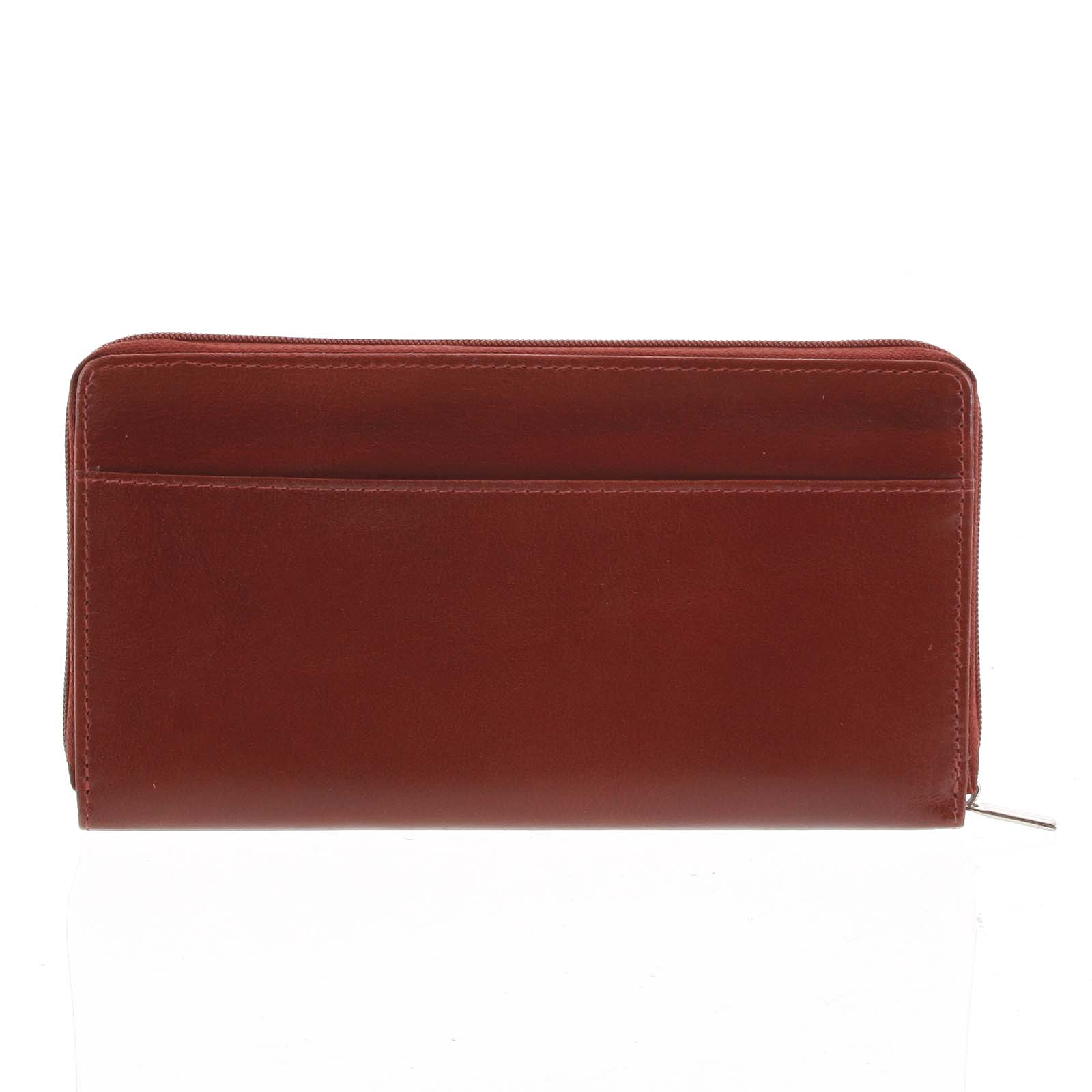 Dámská kožená peněženka tmavě červená - Tomas Imvilophu červená
