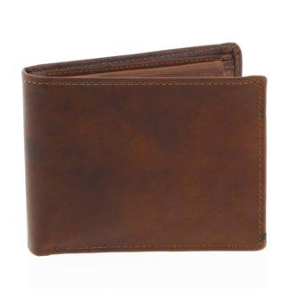 Pánská kožená peněženka hnědá - Tomas Bushel hnědá