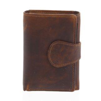 Kožená peněženka hnědá - Tomas Ziggi hnědá