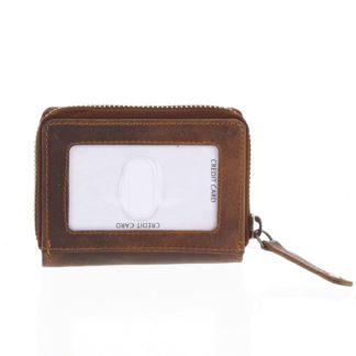Kožená peněženka hnědá - Tomas Omcane hnědá