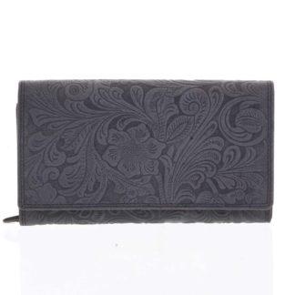 Dámská kožená peněženka černá - Tomas Imbali černá