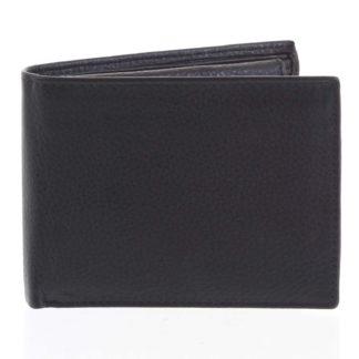 Pánská kožená peněženka černá - Tomas Bushel černá
