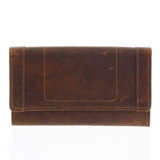 Kožená peněženka hnědá - Tomas Mayana hnědá