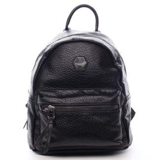 Dámský městský batoh černý - David Jones Mackenzie černá