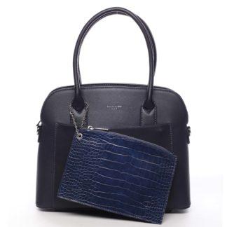 Dámská kabelka tmavě modrá - David Jones Caleed modrá