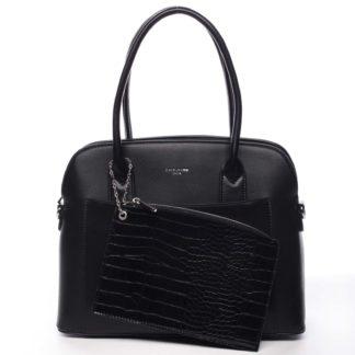 Dámská kabelka černá - David Jones Caleed černá