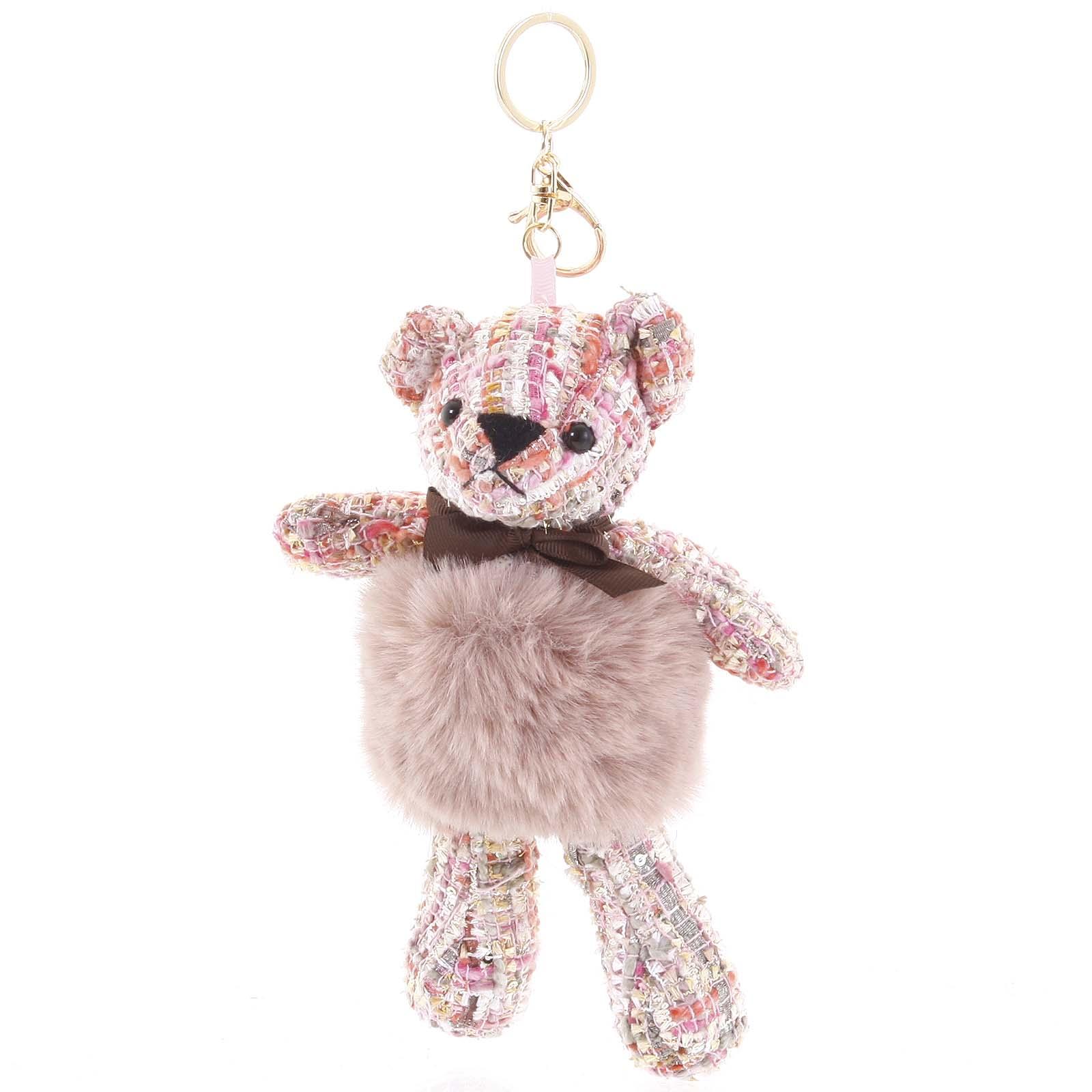 Přívěsek růžový - HairyBeer 01 růžová
