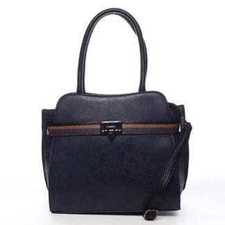 Dámská kabelka přes rameno tmavě modrá - Maria C Shelsia modrá