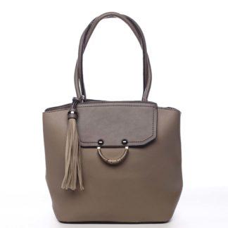 Dámská kabelka přes rameno camel - Maria C Irina Camel
