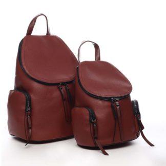 Dámský batoh tmavě červený - Maria C Hips Dual červená