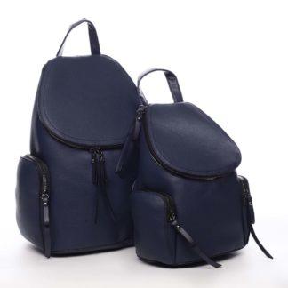 Dámský batoh tmavě modrý - Maria C Hips Dual modrá