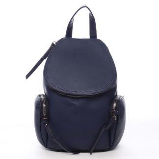 Dámský batoh tmavě modrý - Maria C Hips Small modrá