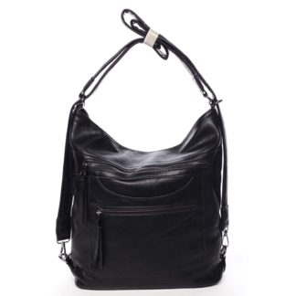 Dámská kabelka batoh černá - Romina Pamila černá