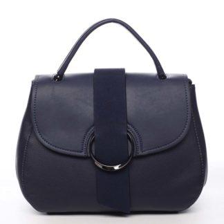 Jedinečná dámská kabelka do ruky tmavě modrá - Maria C Laurel modrá