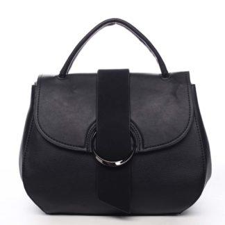 Jedinečná dámská kabelka do ruky černá - Maria C Laurel černá