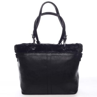 Dámská kabelka přes rameno černá - Maria C Lyra černá