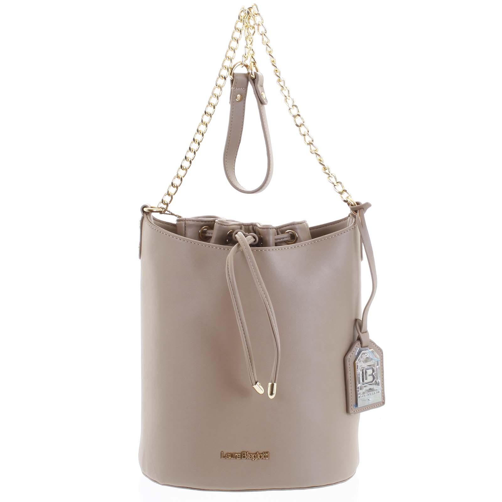 Dámská kabelka přes rameno camel - Laura Biagiotti Vivienne Camel