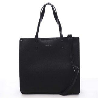 Dámská kabelka černá - Pierre Cardin Dished černá