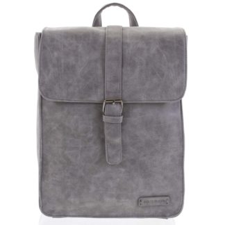 Stylový batoh šedý - Enrico Benetti Steffani šedá