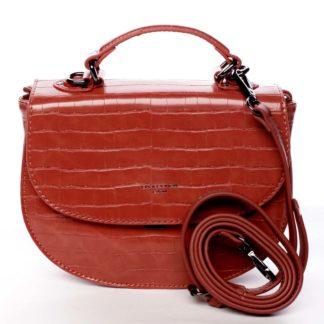 Dámská kabelka do ruky červená - David Jones Cosette červená