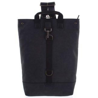 Pánský velký batoh černý - Hexagona Adrien černá